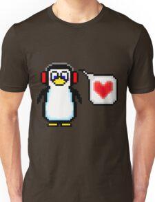 Valentine Penguin Unisex T-Shirt