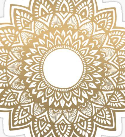 Mandala gold Sticker