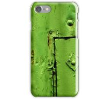 Green Section iPhone Case/Skin