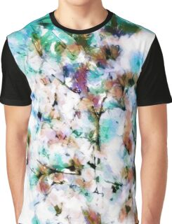 Abstract pattern with watercolor spots Graphic T-Shirt