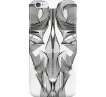 Animal Skull Line Art iPhone Case/Skin