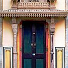 Door at the City Palace  by Ethna Gillespie