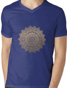 Mandala gold  Mens V-Neck T-Shirt
