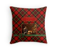 Merry Christmas from Frasers Ridge Throw Pillow
