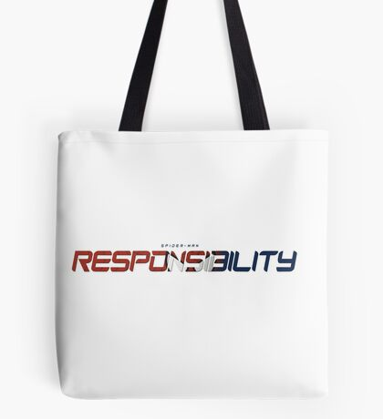 Spider-Man - Responsibility Type Tote Bag