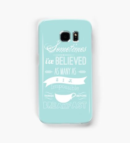 Alice in Wonderland Samsung Galaxy Case/Skin