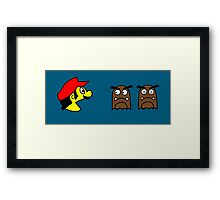 Bros.-Man (b) Framed Print