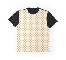 Golden polka dot Graphic T-Shirt