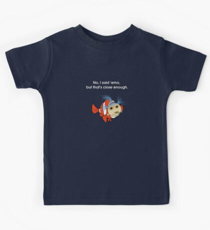 Finding emo in the labyrinth Kids Tee