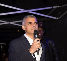 Sadiq Khan Mayor Of London by Keith Larby
