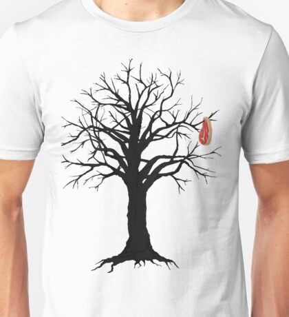 steak in tree Unisex T-Shirt
