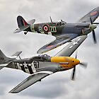 A Close Pass - HDR -Dunsfold 2014 by Colin J Williams Photography