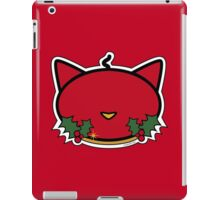 Meow Christmas Red Candle iPad Case/Skin
