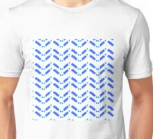 zigzag deconstructed Unisex T-Shirt