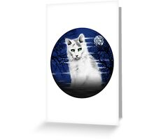 The Phantom Feline Greeting Card