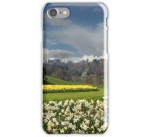 Alnwick Castle in the Spring iPhone Case/Skin