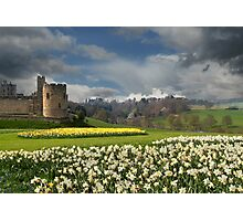 Alnwick Castle in the Spring Photographic Print
