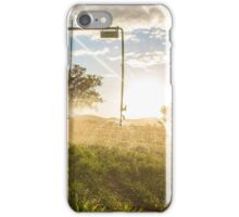 Irrigation sunset 1 iPhone Case/Skin