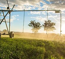 Irrigation sunset 1 by Candice84