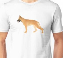 German Shepherd: Golden Unisex T-Shirt