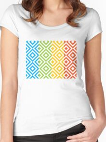 pattern FC Women's Fitted Scoop T-Shirt