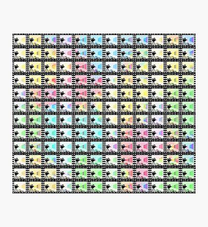 Retro movie pattern Photographic Print