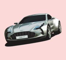 Aston Martin One-77 sports car One Piece - Short Sleeve