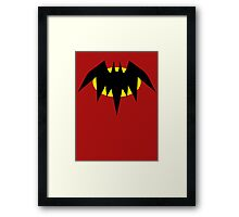 Planet X Bat Framed Print