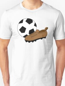 Soccer Ball And Cleat T-Shirt