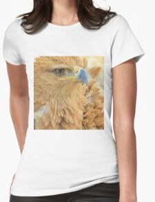 Tawny Eagle Anger - Wildlife Humor Womens Fitted T-Shirt