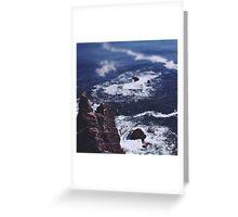 Blue Ocean Greeting Card