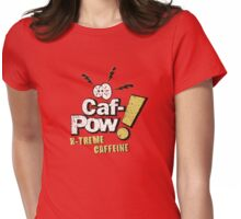Caf-Pow - X-Treme Distressed Variant Womens Fitted T-Shirt