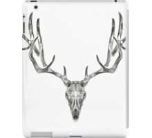 Deer Skull Animal Line Art iPad Case/Skin
