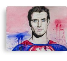 Man of Steel-Part1 Canvas Print