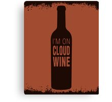Cloud Wine Canvas Print