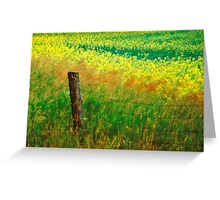 Rustic Boundary Greeting Card