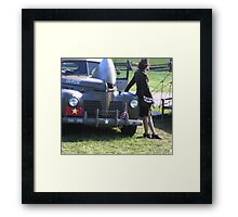 The General's Driver  Framed Print