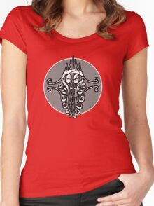 Jungle Skull Women's Fitted Scoop T-Shirt