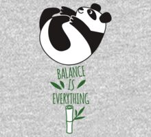 Balance Is Everything! Tumbling panda. One Piece - Long Sleeve