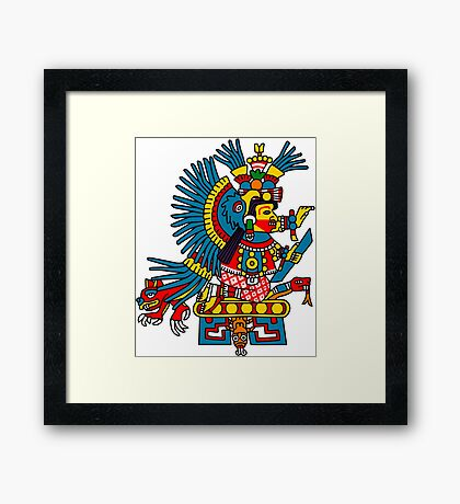 Chiconahui (or maybe Xochiquetzal)  Framed Print