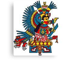 Chiconahui (or maybe Xochiquetzal)  Canvas Print
