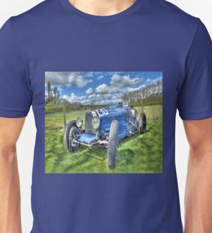 Bugatti Grand Prix Racing Car Unisex T-Shirt