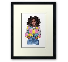 Acceptable in the 80s Framed Print