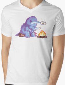 Triceramallows Mens V-Neck T-Shirt