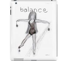 Balance © Vicki Ferrari iPad Case/Skin
