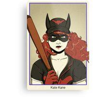 Kate Kane Batwoman Metal Print