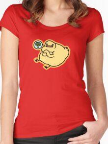 Picky Birdblob Women's Fitted Scoop T-Shirt