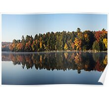 Mirrored Autumn -  Poster