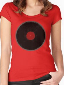 The Vinyl Record Women's Fitted Scoop T-Shirt