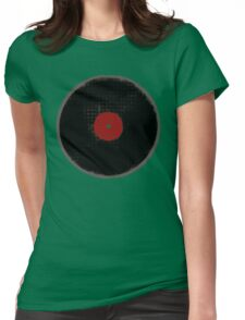 The Vinyl Record Womens Fitted T-Shirt